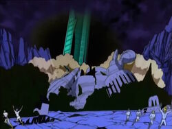 Galactus Tentacle Destroys Zenn-La Temple