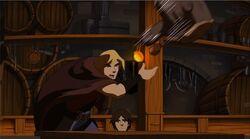 Thor Throws Hammer TTA