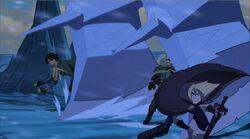 Asgardians Dodge Sentries Axes TTA