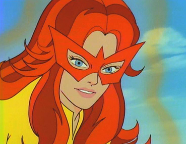Image result for marvel comics firestar angelica jones