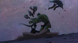 Caiera Knocks Hulks Armor Off PH