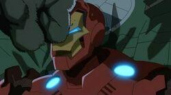 Hulk Hits Iron Man UA