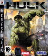 Hulk PS3 ES cover