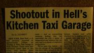 Shootout in Veles Taxi
