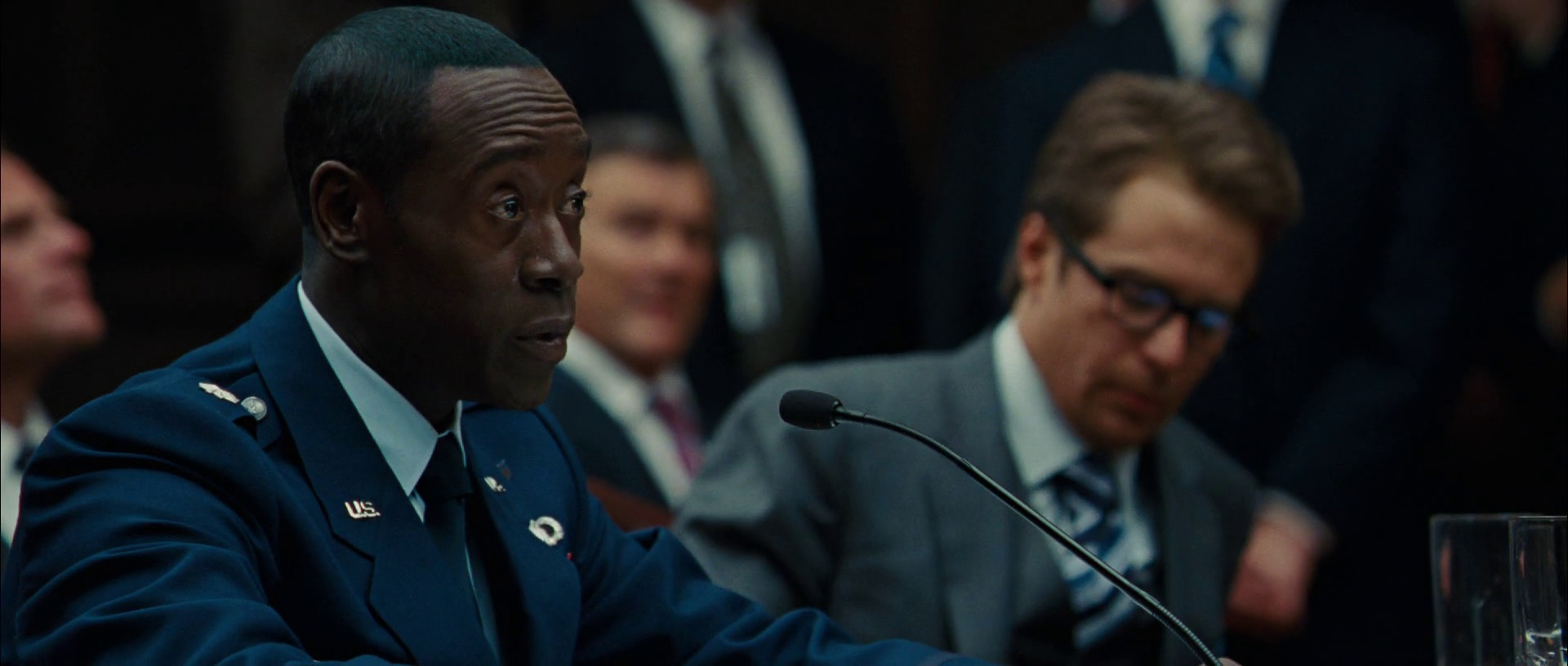 File:Don Cheadle James Rhodey Rhodes Sam Rockwell Justin Hammer Iron Man 2 Pic.jpg