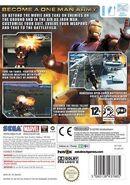 IronMan Wii EU cover back