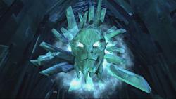 Ymir greets Thor