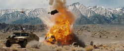 Humvee Explosion