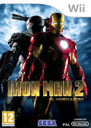 IronMan2 Wii ES cover