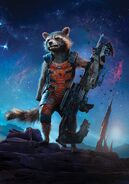 Textless Rocket GOTG Poster