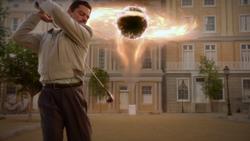 Stark plays golf - The Rift