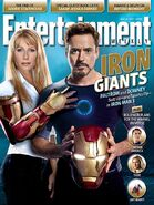 Iron Man 3 Entertainment Weekly Cover