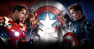 CA Civil War INTL Poster Wide Textless