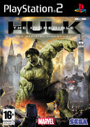 Hulk PS2 EU cover