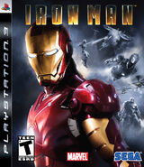 IronMan PS3 US cover