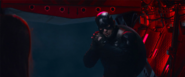Cap's stealth suit