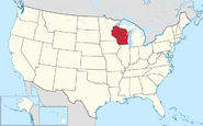 Map of Wisconsin