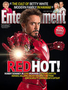 Iron Man 2 Entertainment Weekly Cover