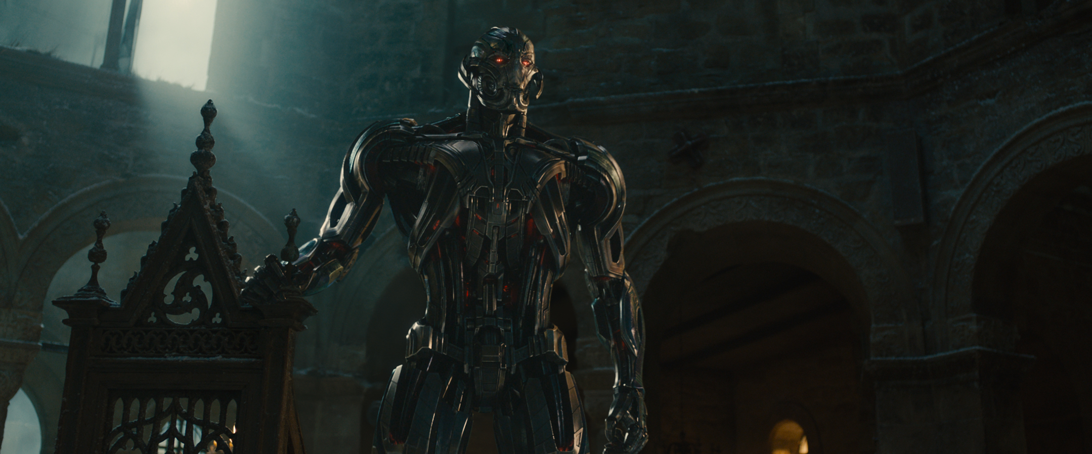 Ultron Greets The Maximoff