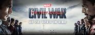 Captain America Civil War German banner