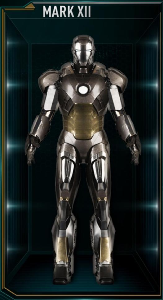 Iron Man Armor Mark XII