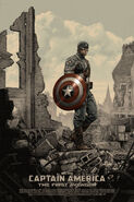 Captain America The First Avengers Mondo poster 1