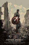Captain America The First Avengers Mondo poster 1