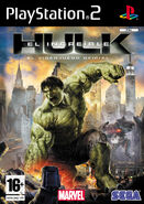 Hulk PS2 ES cover