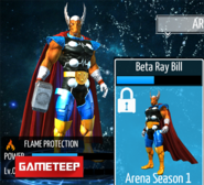 Beta Ray Bill Armor