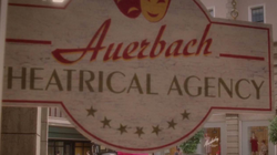 Auerbach Theatrical Agency Sign
