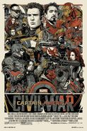 Captain America Civil War Mondo Poster 2