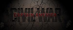 Captain America Civil War Title Card (2016)