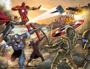 Avengers vs HYDRA