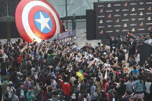 Captain America Winter Soldier Beijing Fan Event5