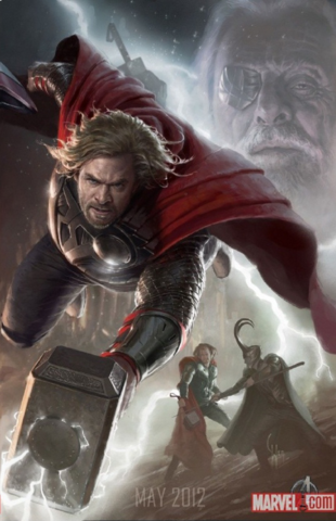 File:Avengers Poster - Thor.png