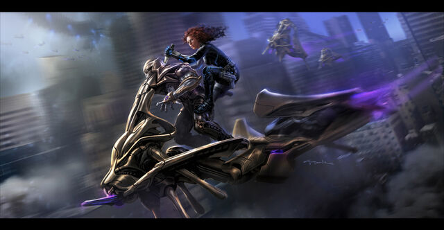 File:Andyparkart-the-avengers-black-widow-chariot-ride.jpg