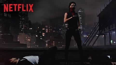 Marvel's Daredevil - Character Artwork - Elektra - Netflix HD