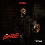 Daredevil season 2 Punisher poster