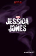 Jessica Jones Purple Poster
