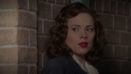 Peggy Carter - Hiding on the Ledge