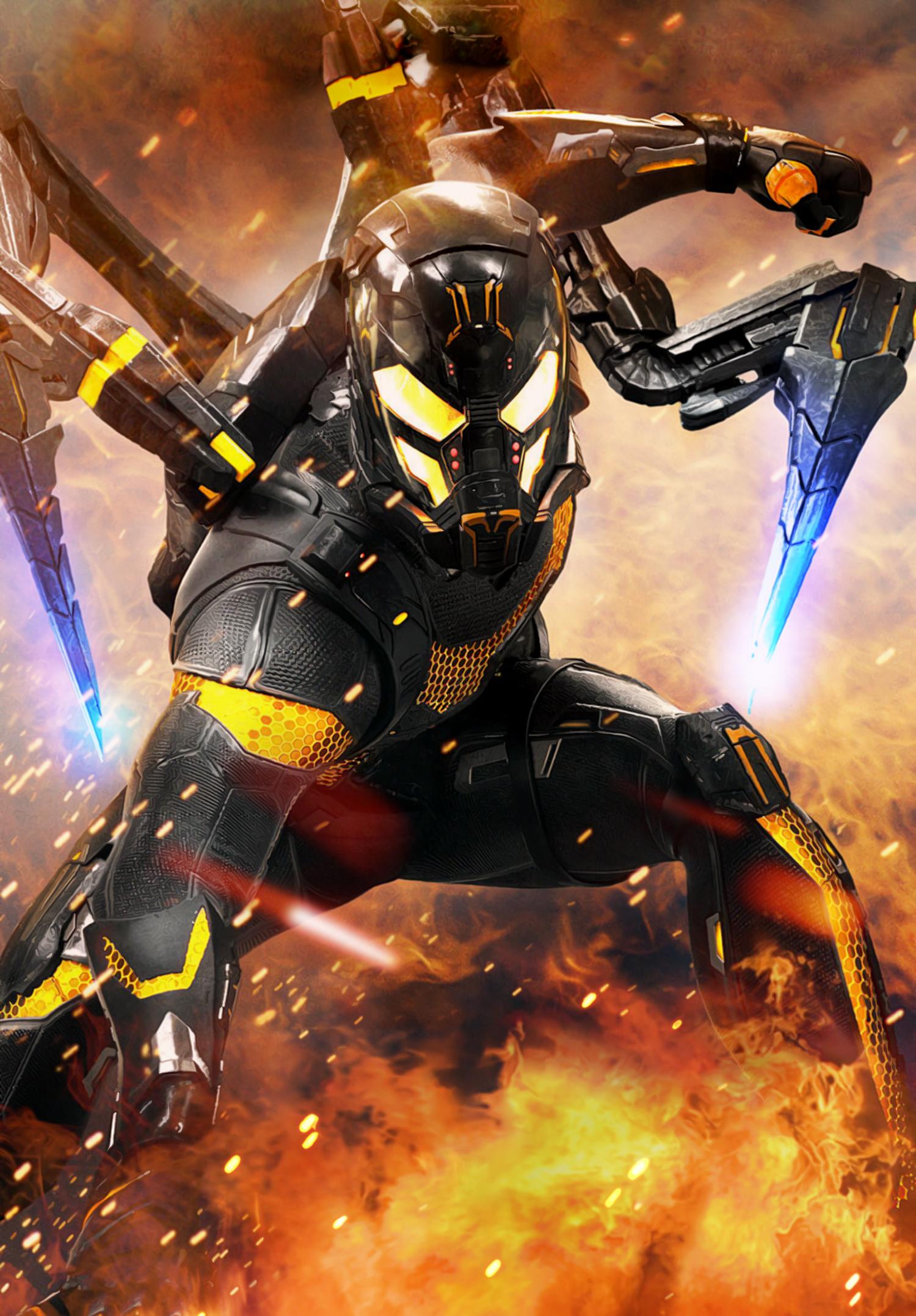 Yellow jacket - Yellowjacket Marvel Cinematic Universe Wiki Fandom Powered By Wikia