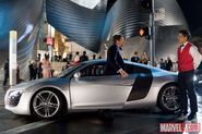 Iron Man 1 - Audi R8 Coupe
