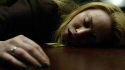 Karen-Page-Kidnapped-Sleeping