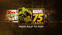 Marvel 75 Years - From Pulp to Pop!