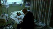 Fisk looking after Marianna at the hospital