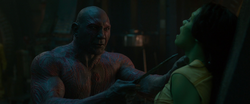 Drax-Attacks-Gamora