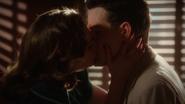 Peggy kisses Daniel