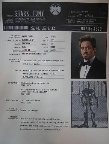 File:S.H.I.E.L.D. Tony Stark file.jpg