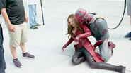 Vision & Scarlet Witch (Behind the Scenes - The Making of CACW)