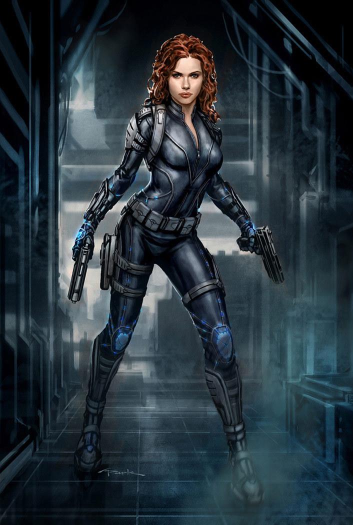 Black Widow Marvel Avengers Full resolution